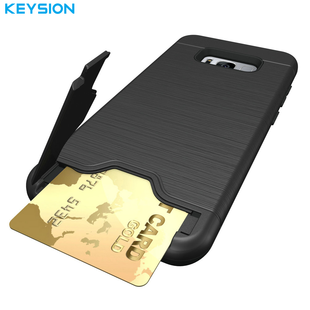 official photos 65aca 11122 KEYSION Case for Samsung Galaxy S8 S8 Plus Back Cover Dirt Resistant ...